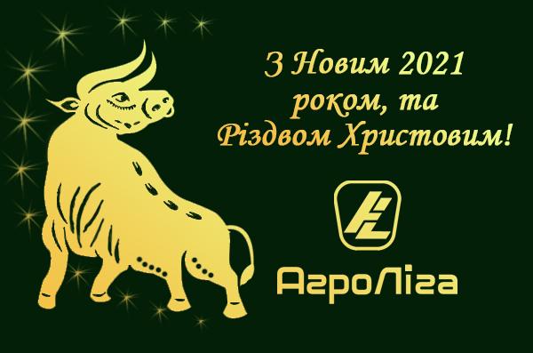 Вітаємо з Новим 2021 роком!