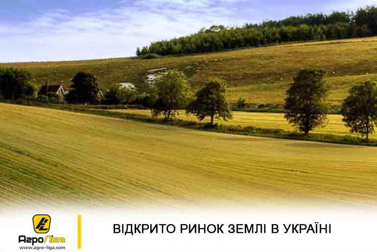Відкрито ринок землі в Україні